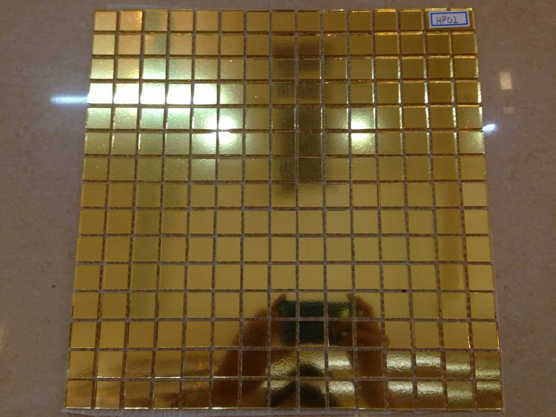 25 Cool Pictures And Ideas Of Gold Bathroom Tiles