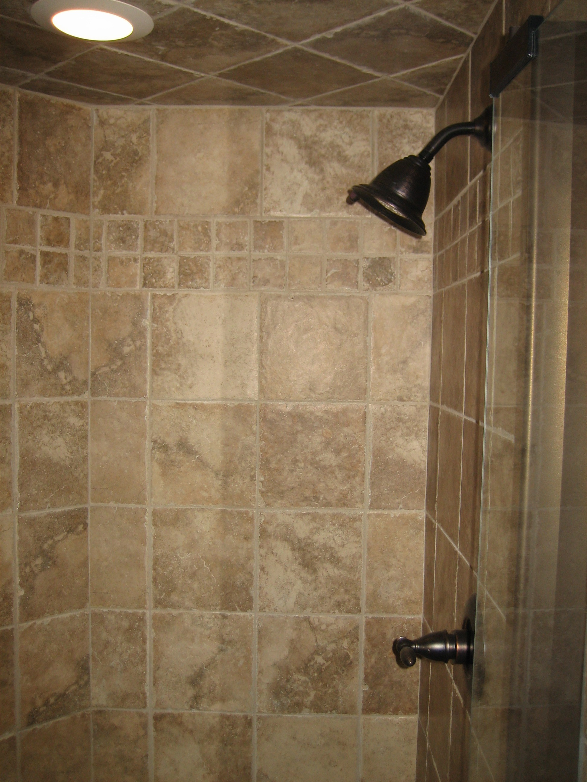 Great Pictures And Ideas Neutral Bathroom Tile
