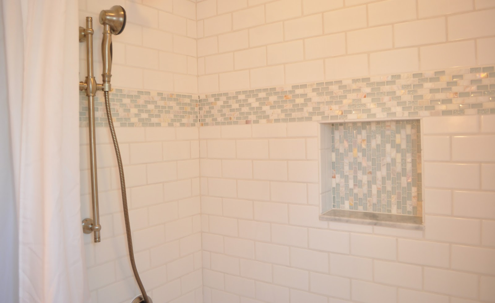 Wonderful Bathroom Granite Tile Ideas And Pictures - 6 x 18 white subway tile