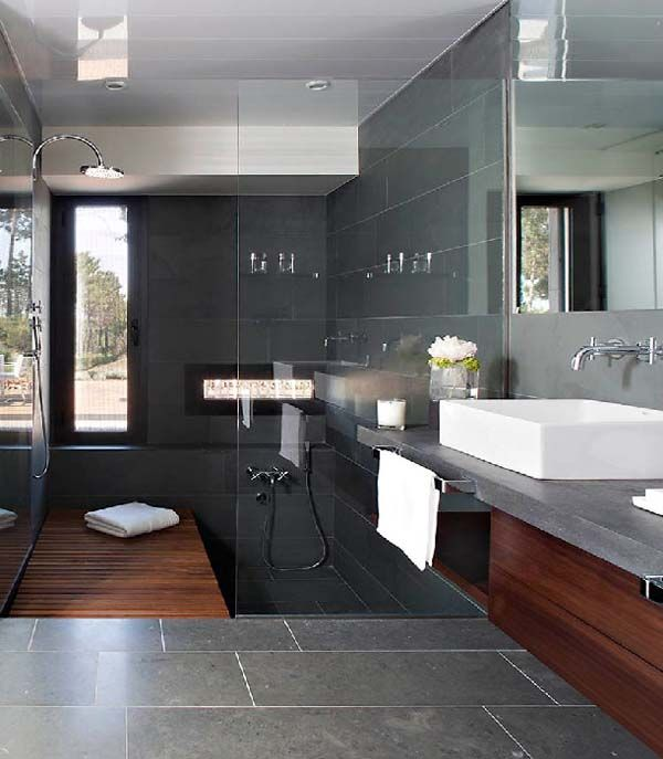 30 Slate Bathroom Tile Pictures