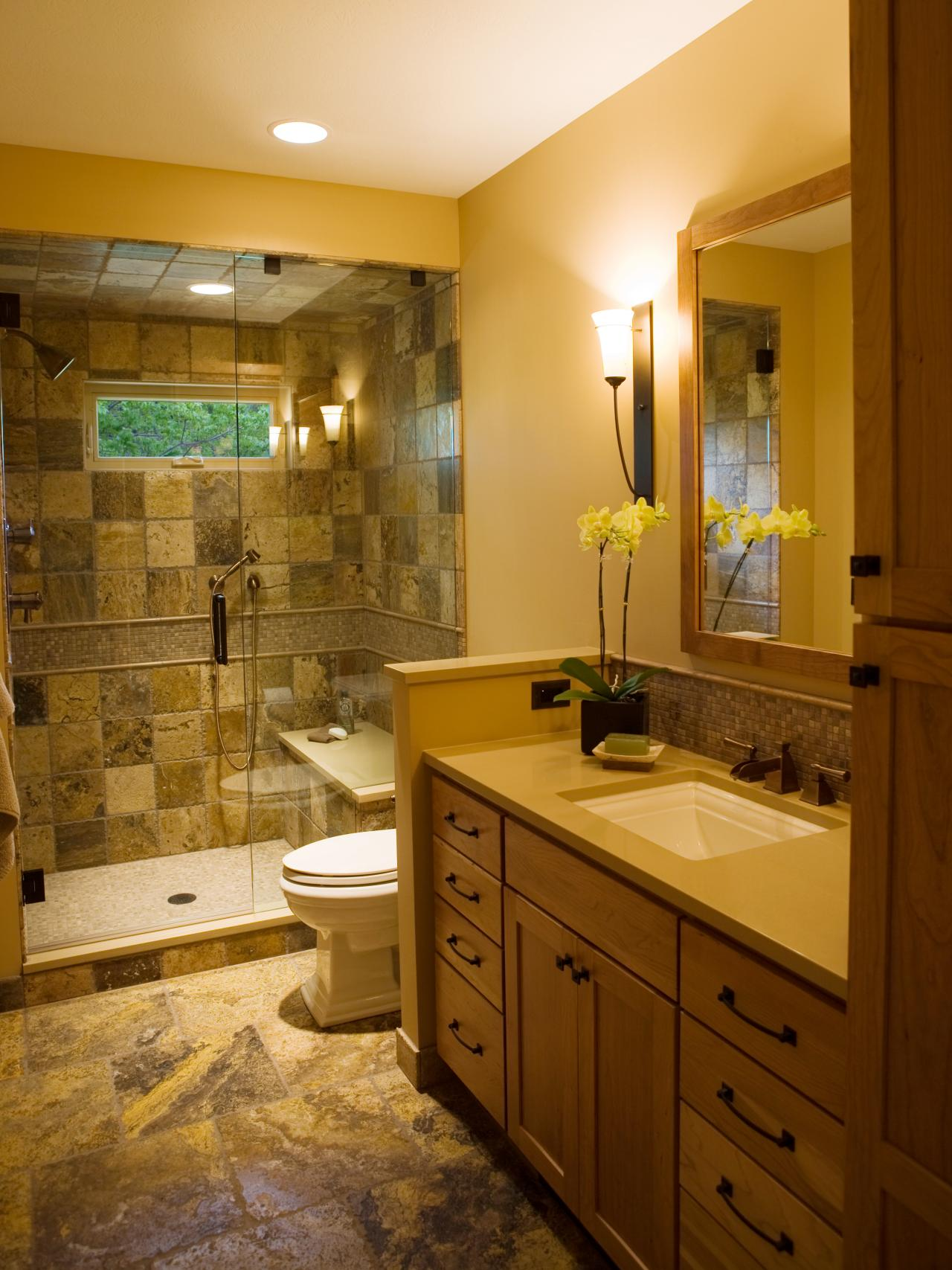 34 great pictures and ideas of neutral bathroom tile ...