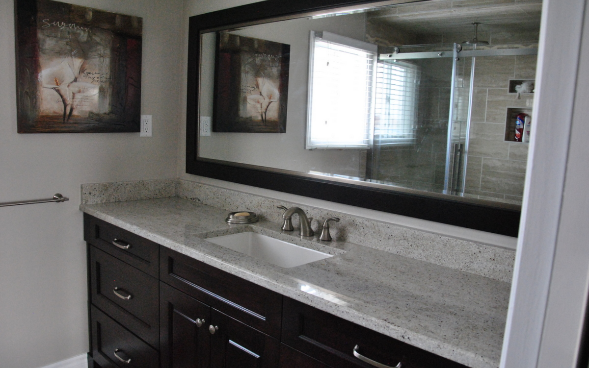 36 Interesting Ideas And Pictures Of Granite Bathroom Wall