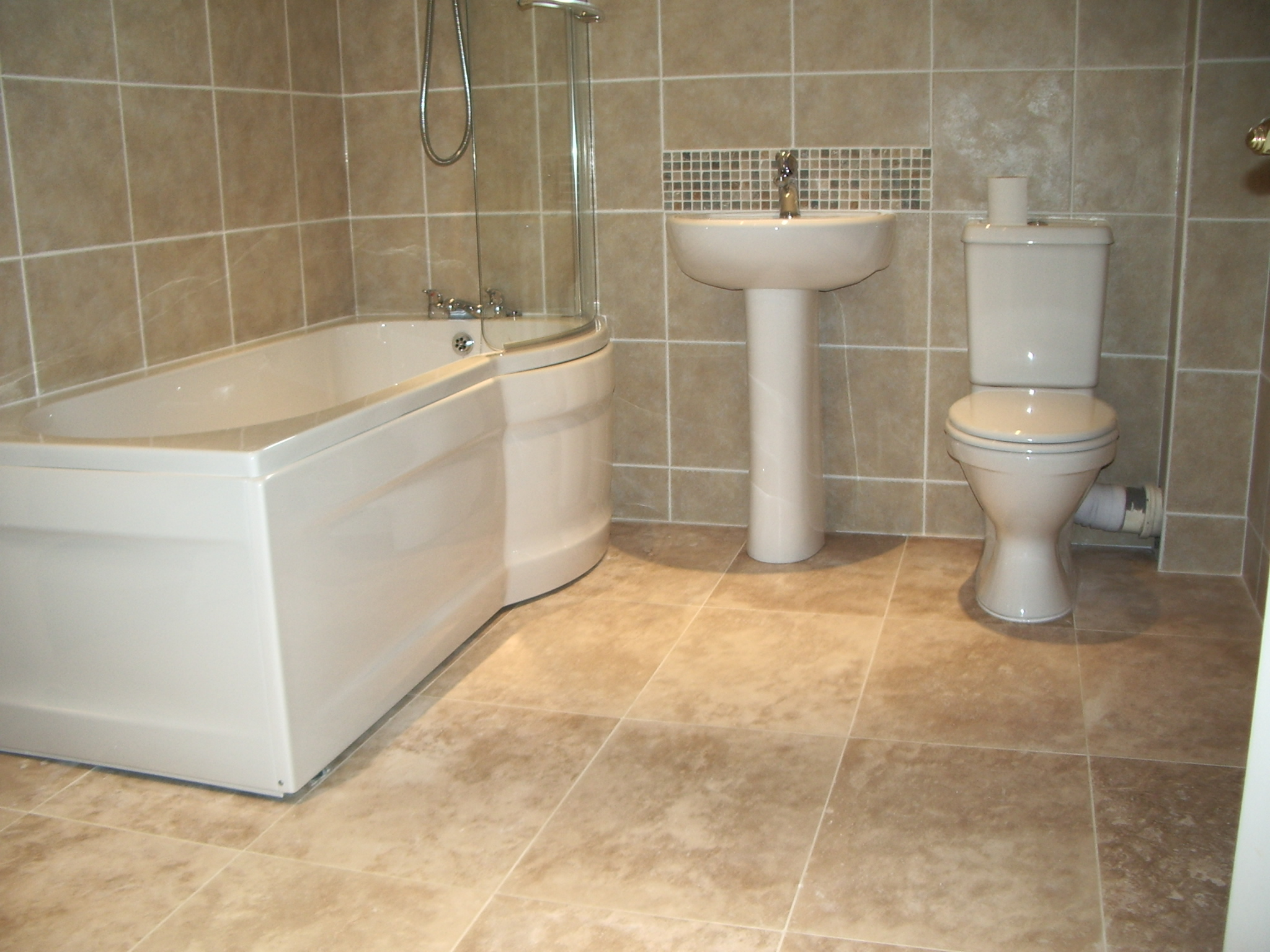 Easy To Clean Bathroom Tile Floors