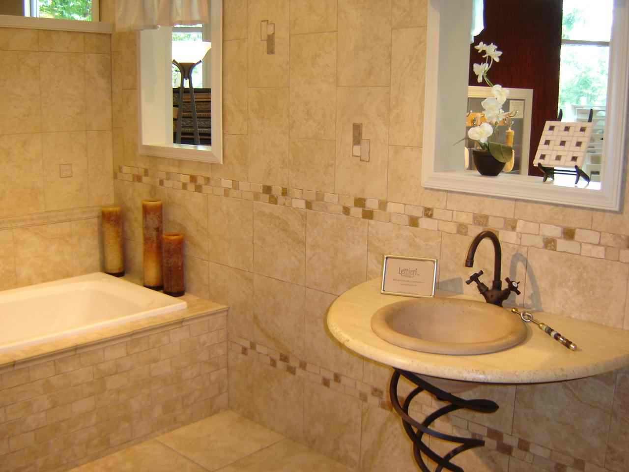 27 28 - Tile Design Ideas For Bathrooms