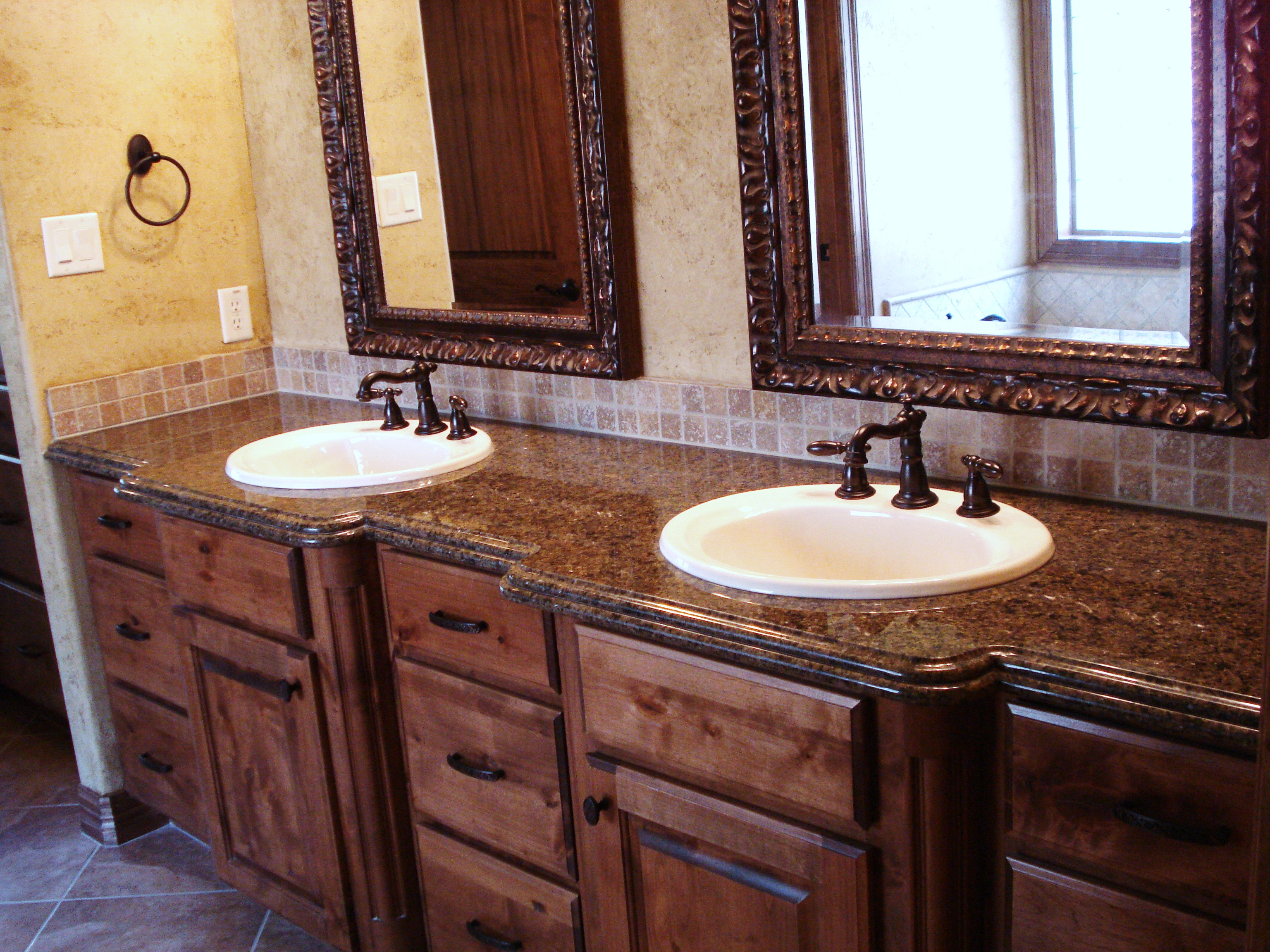 30 amazing ideas and pictures of bathroom tile and granite 18541