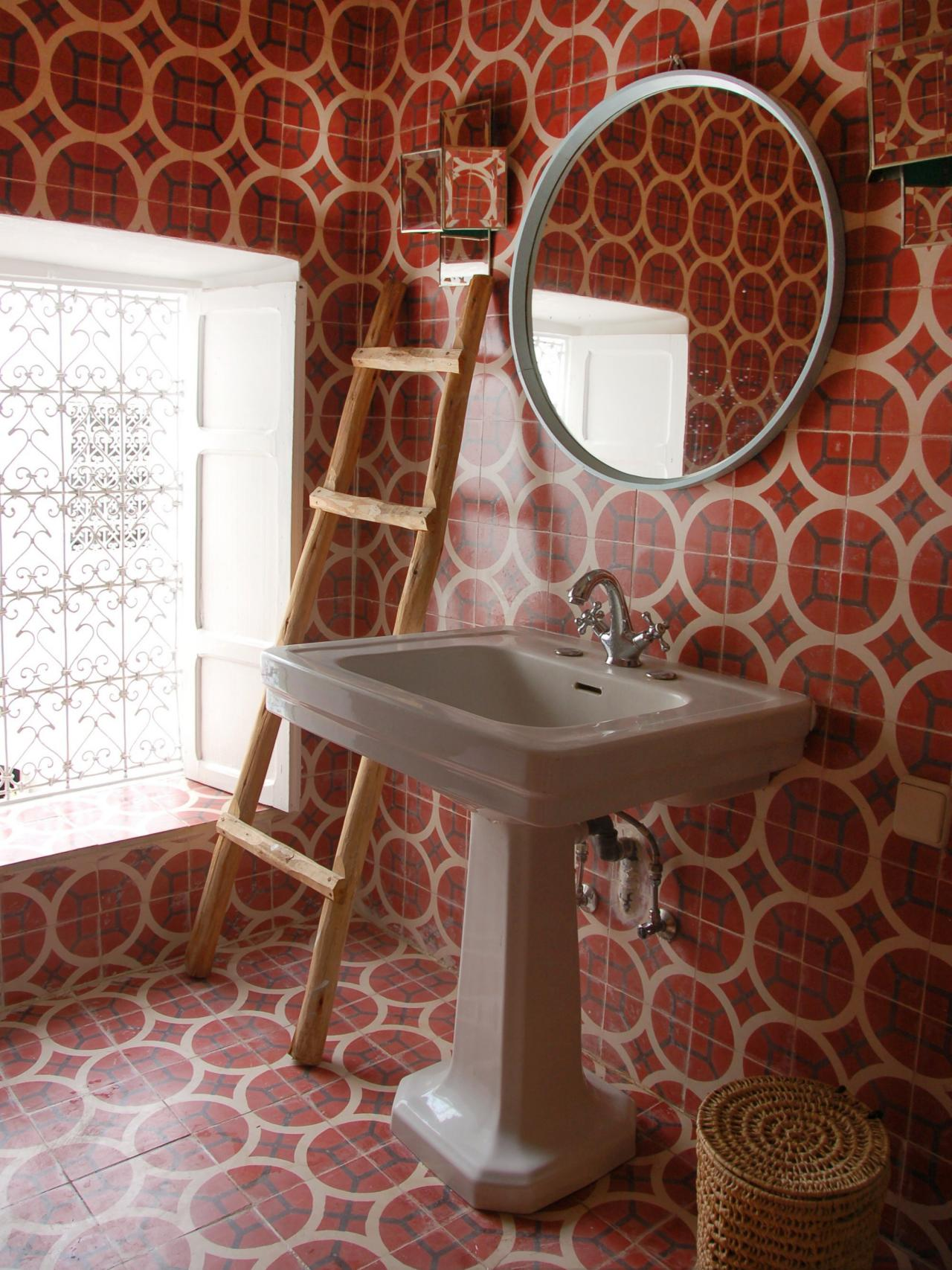 30 Magnificent Pictures And Ideas Of Burgundy Tiles In