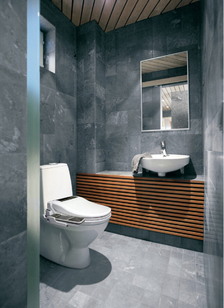 slate tiles bathroom 30 bathroom slate tile ideas 14469
