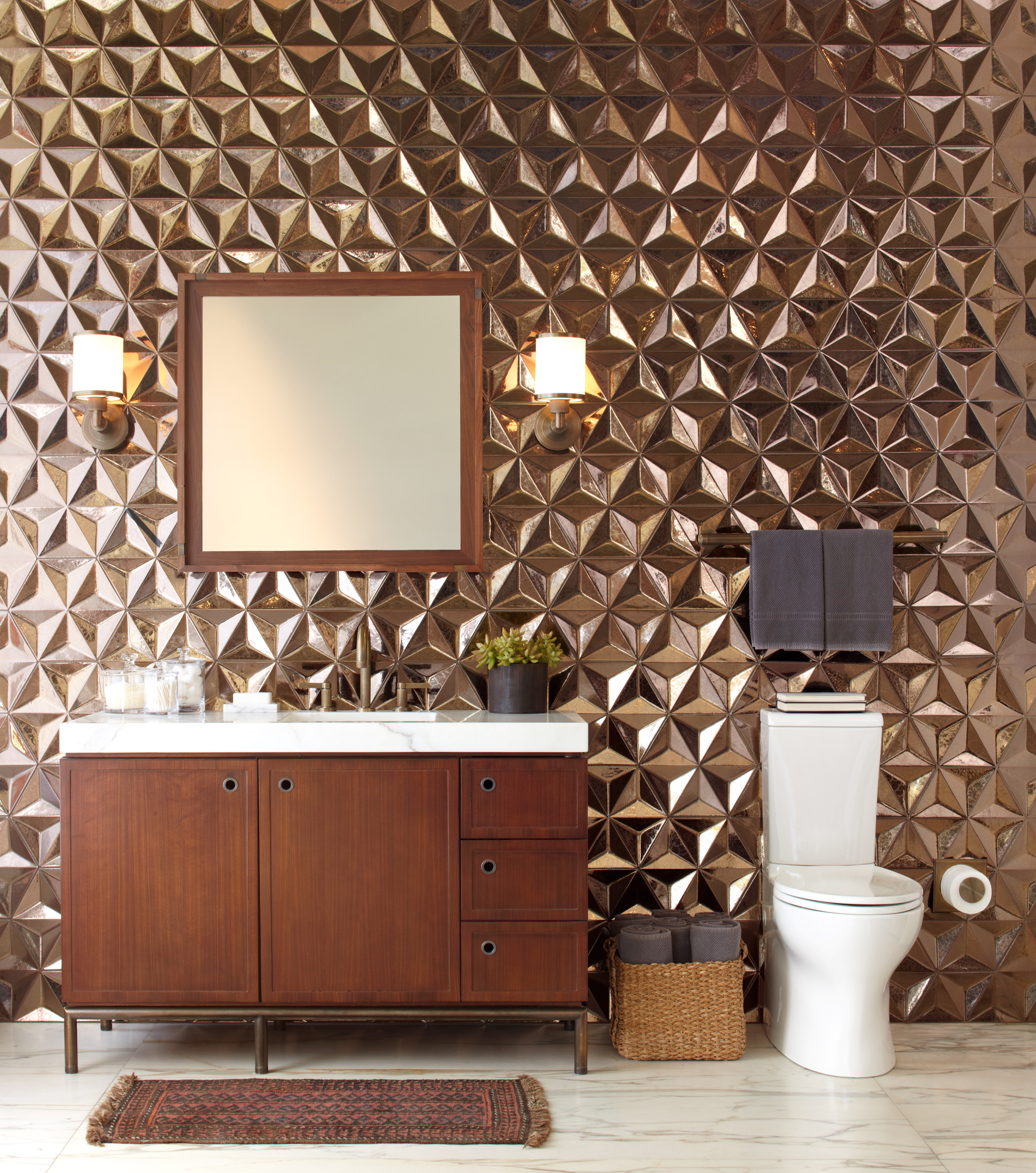 Cool pictures and ideas of gold bathroom tiles 6 7 7c819b970bbf1425fda028c44e09ce65 dailygadgetfo Gallery