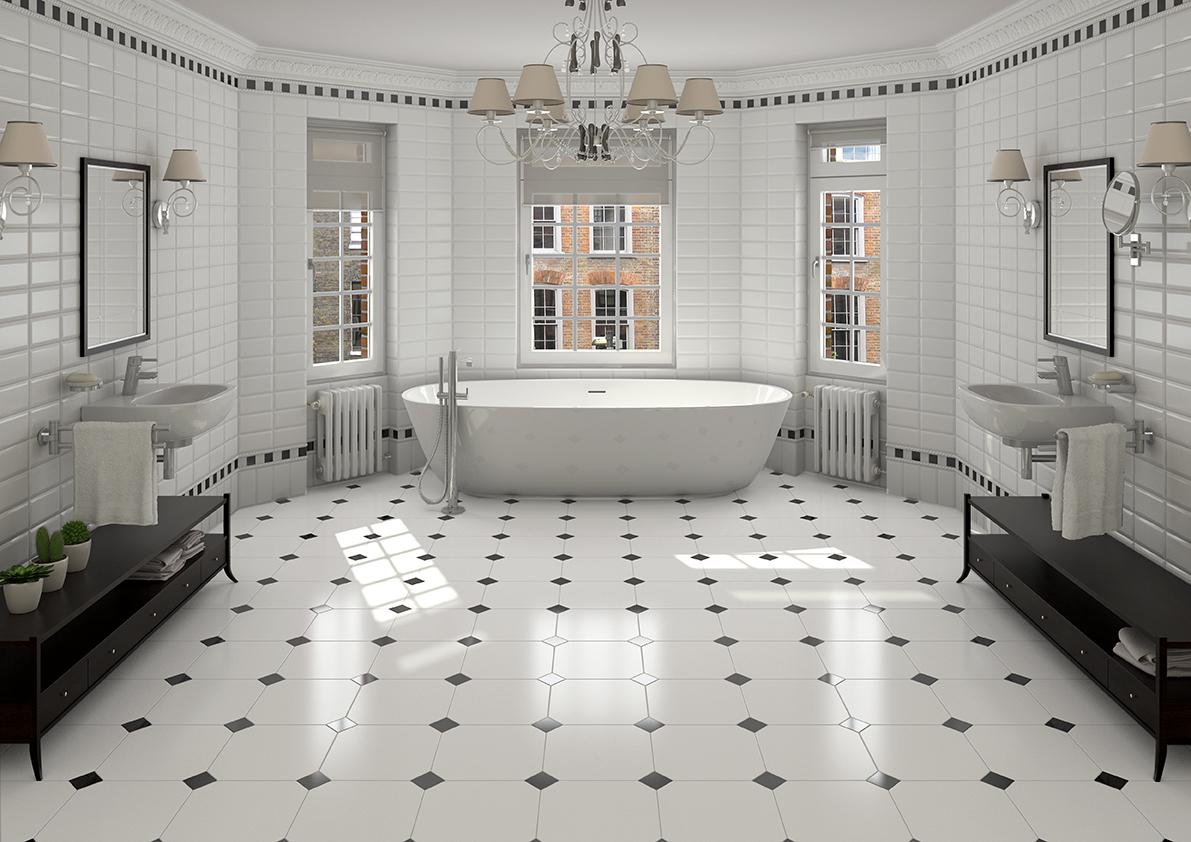 Alaska-octagonal-bathroom-floor-tiles-and-taco-negro