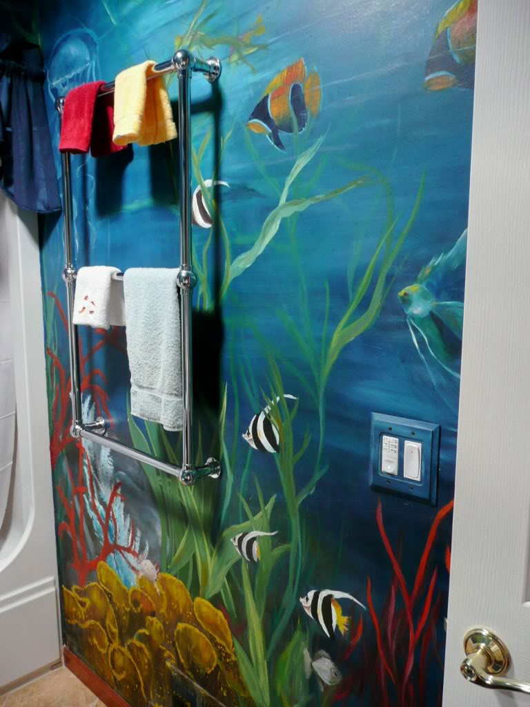 ceramic tile murals for bathroom till now remain something exclusive