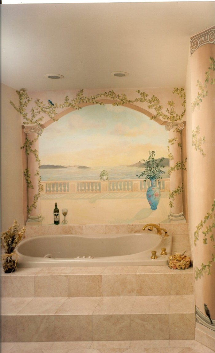 Beautiful-Pastel-Classic-Bathroom-Murals-700x1148