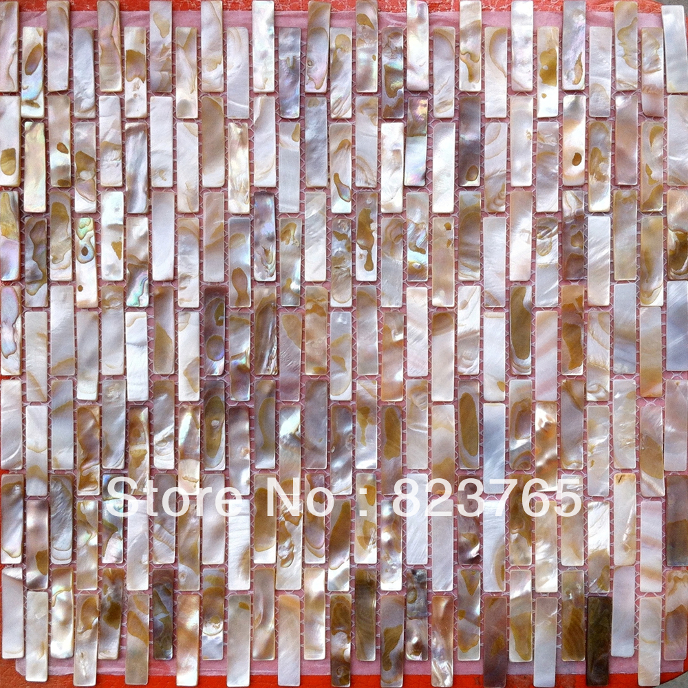 Free-Shipping-11-pieces-per-lot-Iridescent-River-shell-mosaic-tile-mesh-joint-with-seam-backsplash