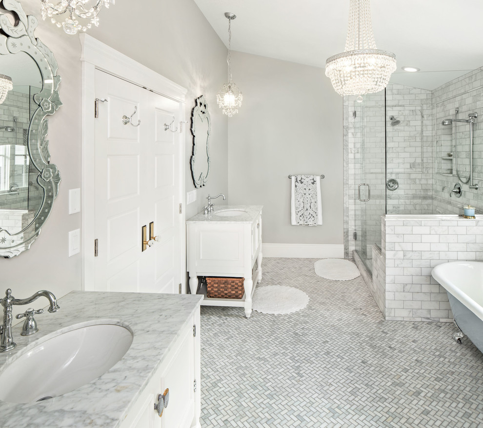 26 Amazing Pictures Of Traditional Bathroom Tile Design Ideas