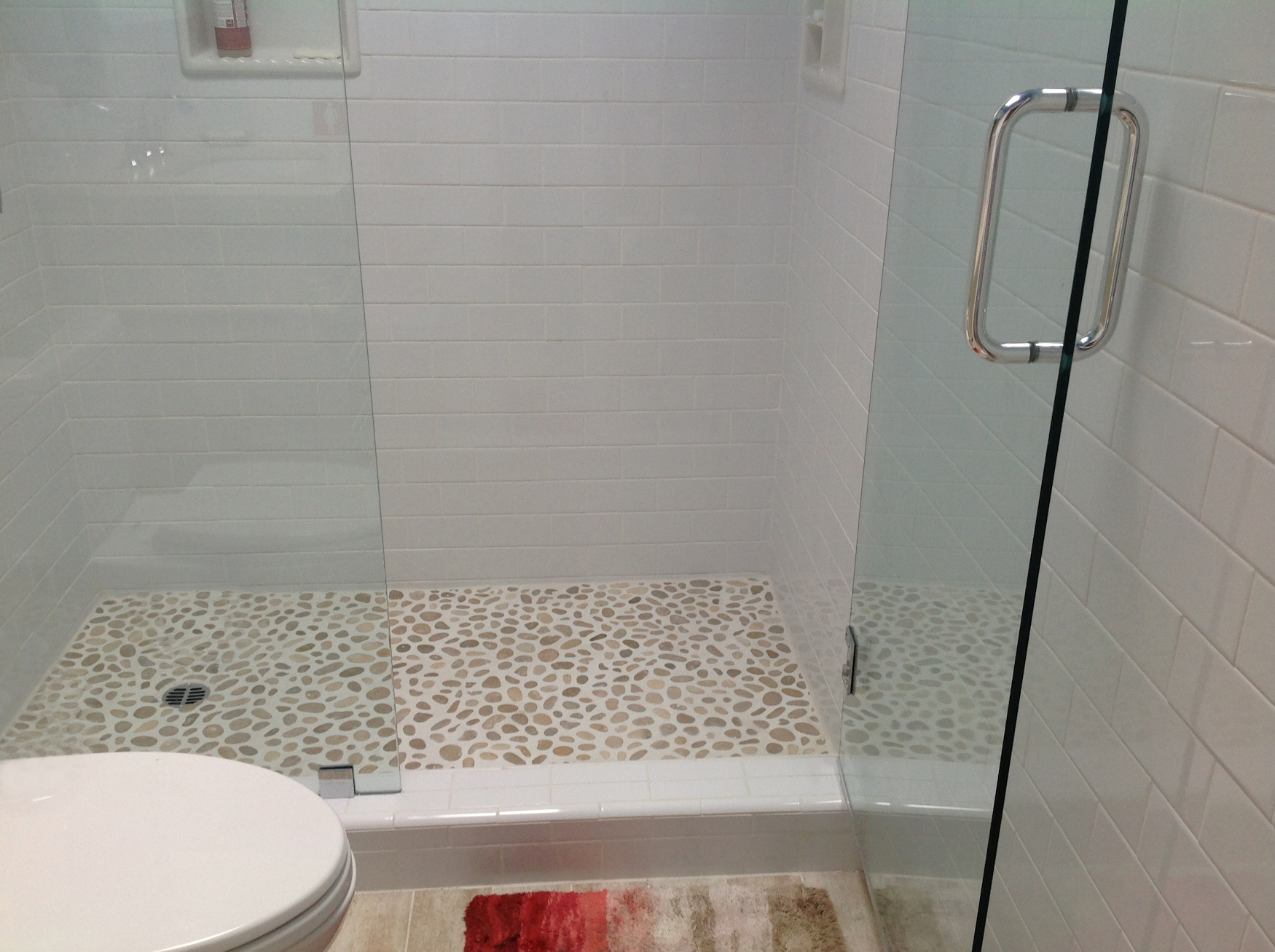 Java-Tan-Pebble-Tile-Shower-Floor