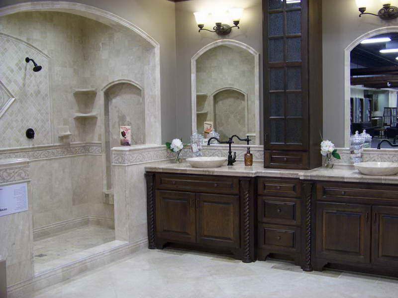Pictures-of-Bathrooms-with-Tile-with-fancy-cabinet