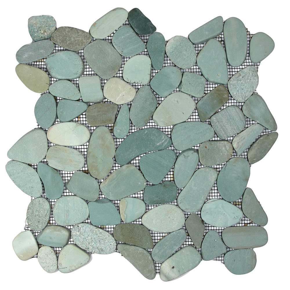 Sliced-Green-Pebble-Tile
