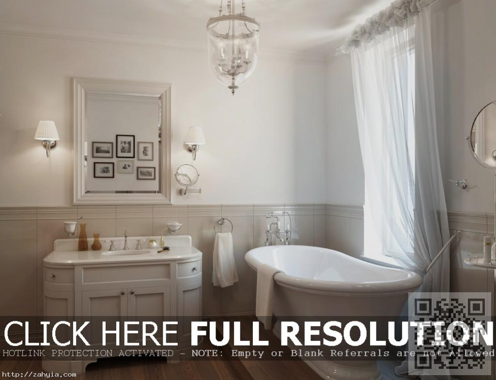 Traditional-Master-Bathrooms-With-Modern-Design-That-Looks-Traditional-Bathroom-Ideas