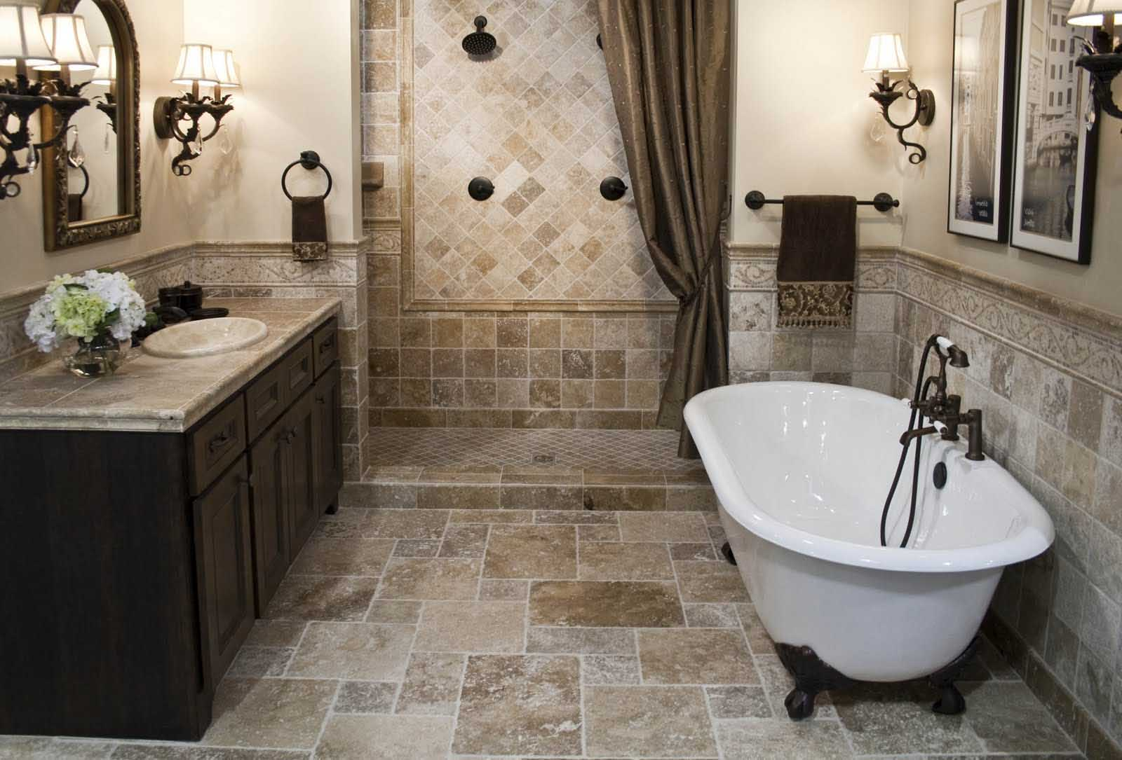Traditional bathroom ideas - Appealing Interior Design Bathroom Ideas