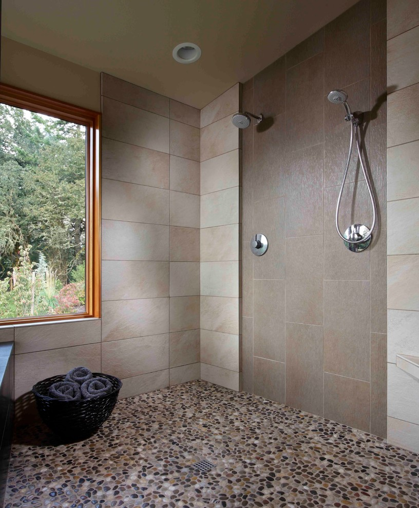 Pebble Tile Ideas For Bathroom