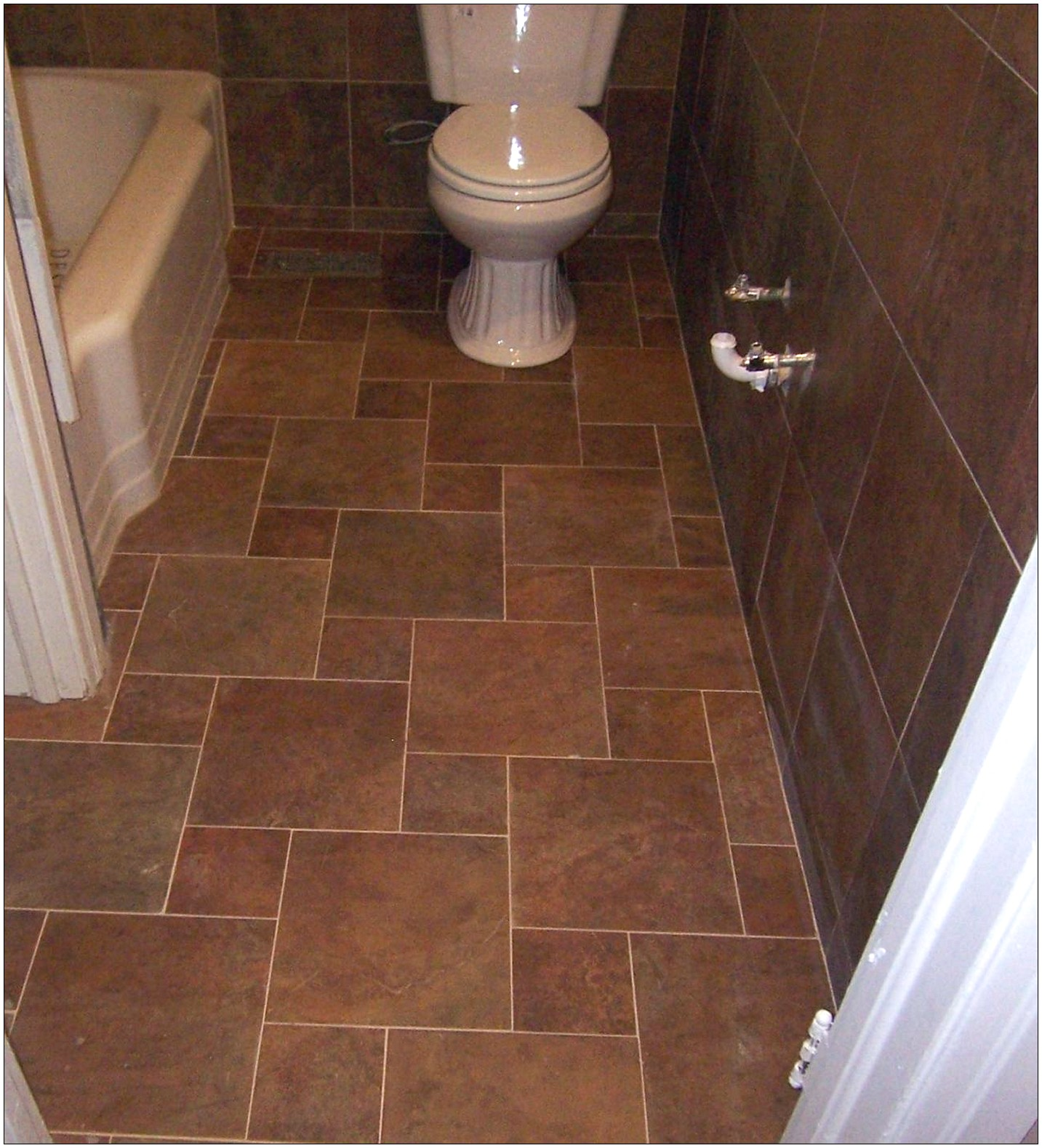 25 wonderful ideas and pictures of decorative bathroom for Bathroom floor tile ideas