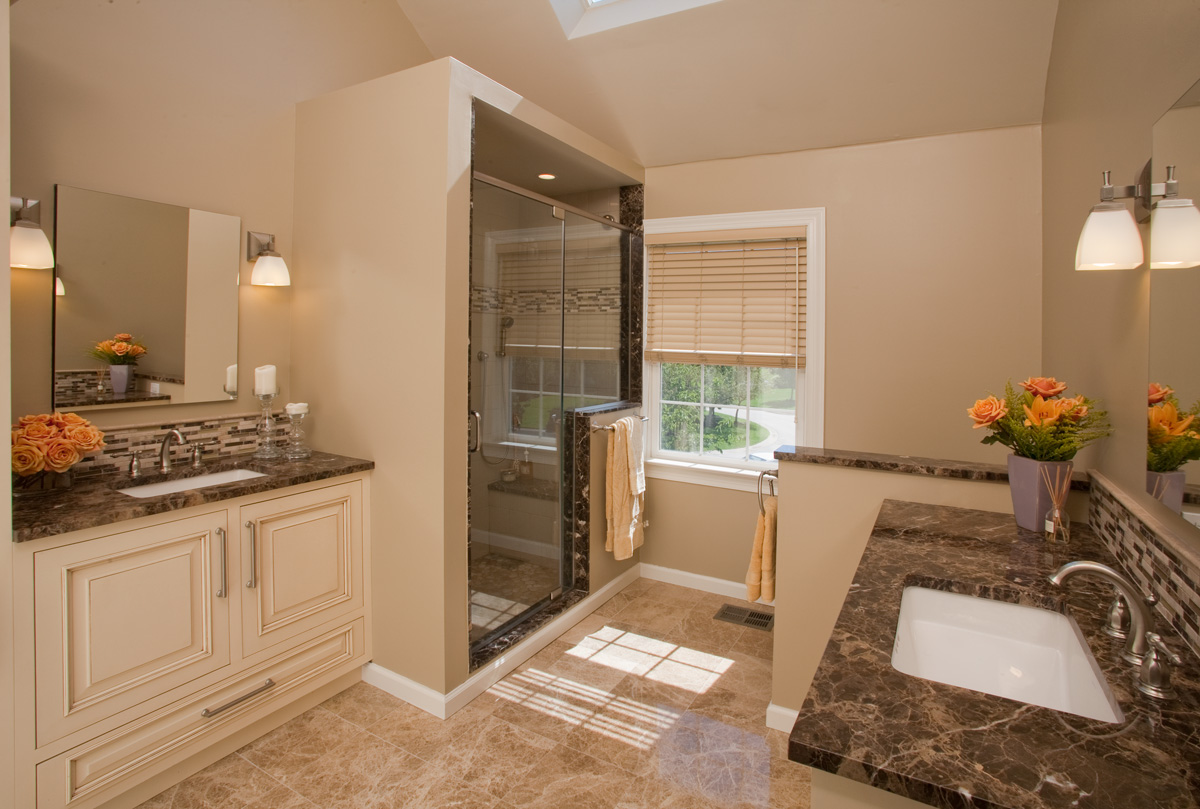Traditional Bathroom Decorating Ideas traditional master bathroom - creditrestore
