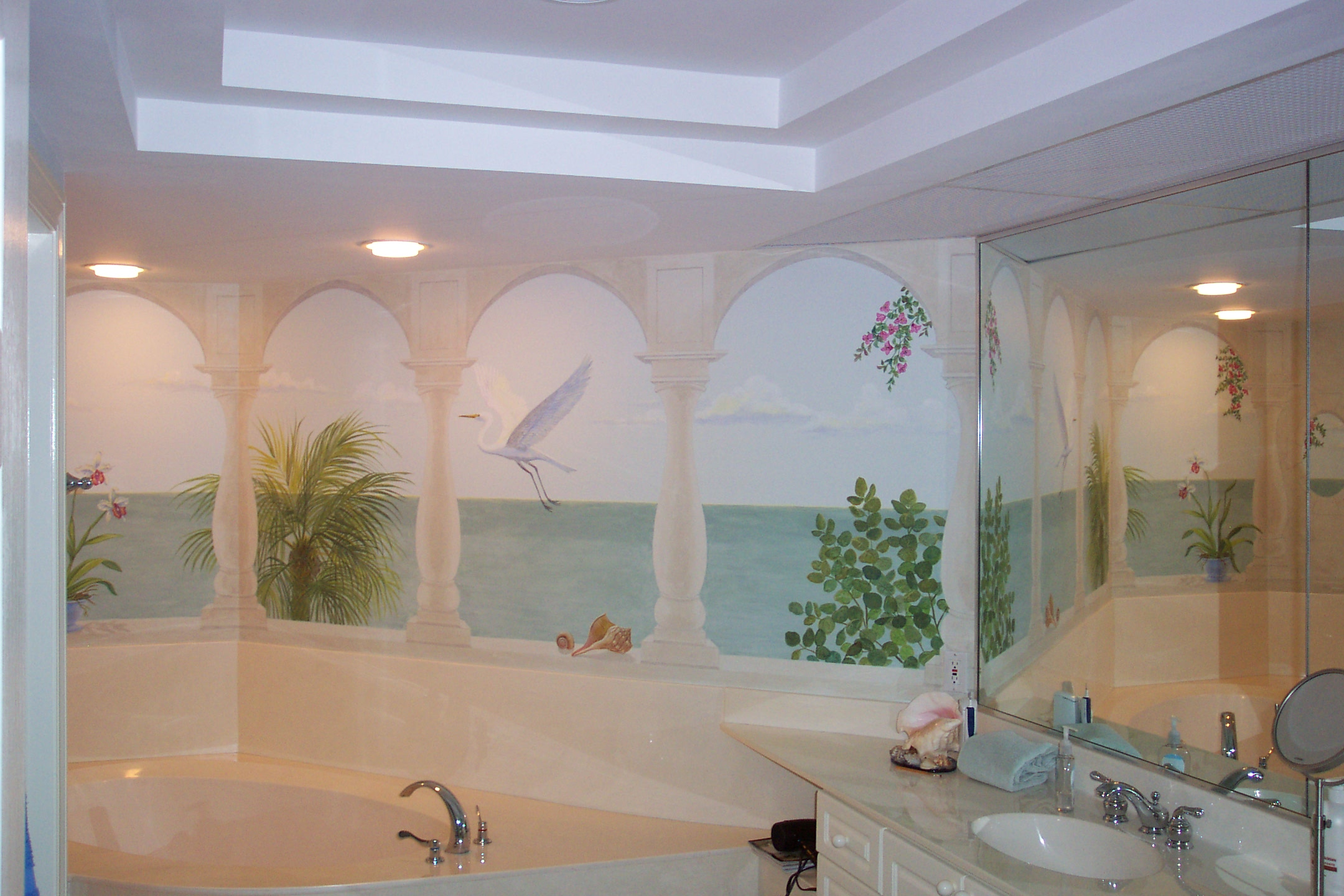bathroom wall murals ztlx. 21 great mosaic tile murals bathroom ideas and pictures