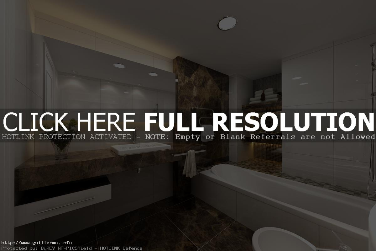 bathroom-with-led-lights-drop-in-bathtub-granite-tiles
