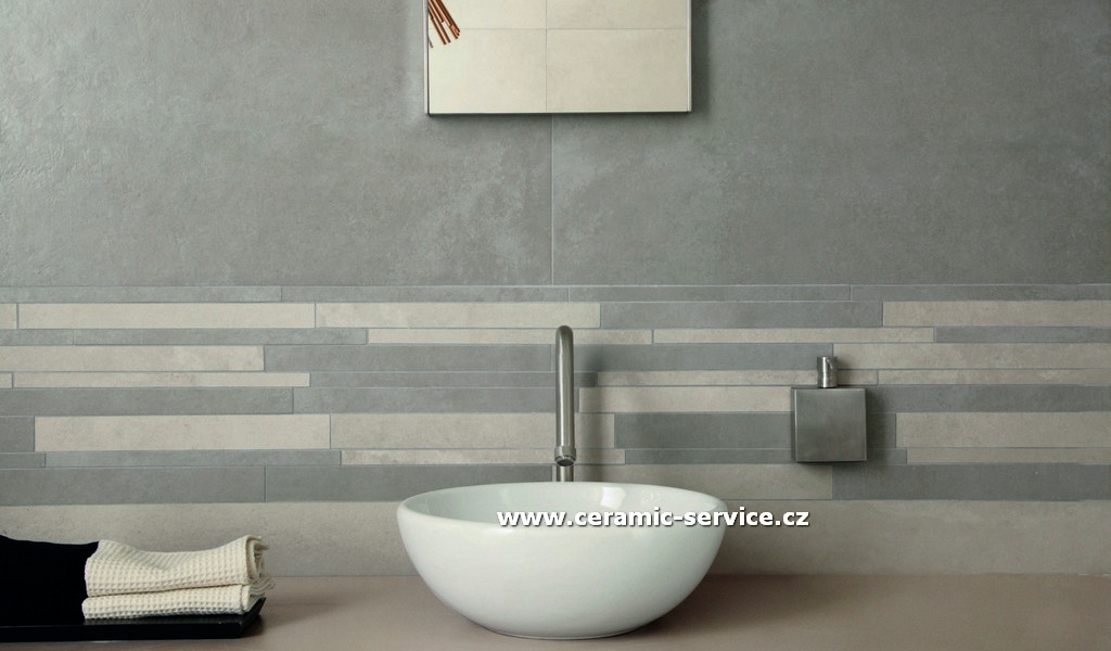 Brilliant 30 Pictures Of Slate Effect Bathroom Wall Tiles