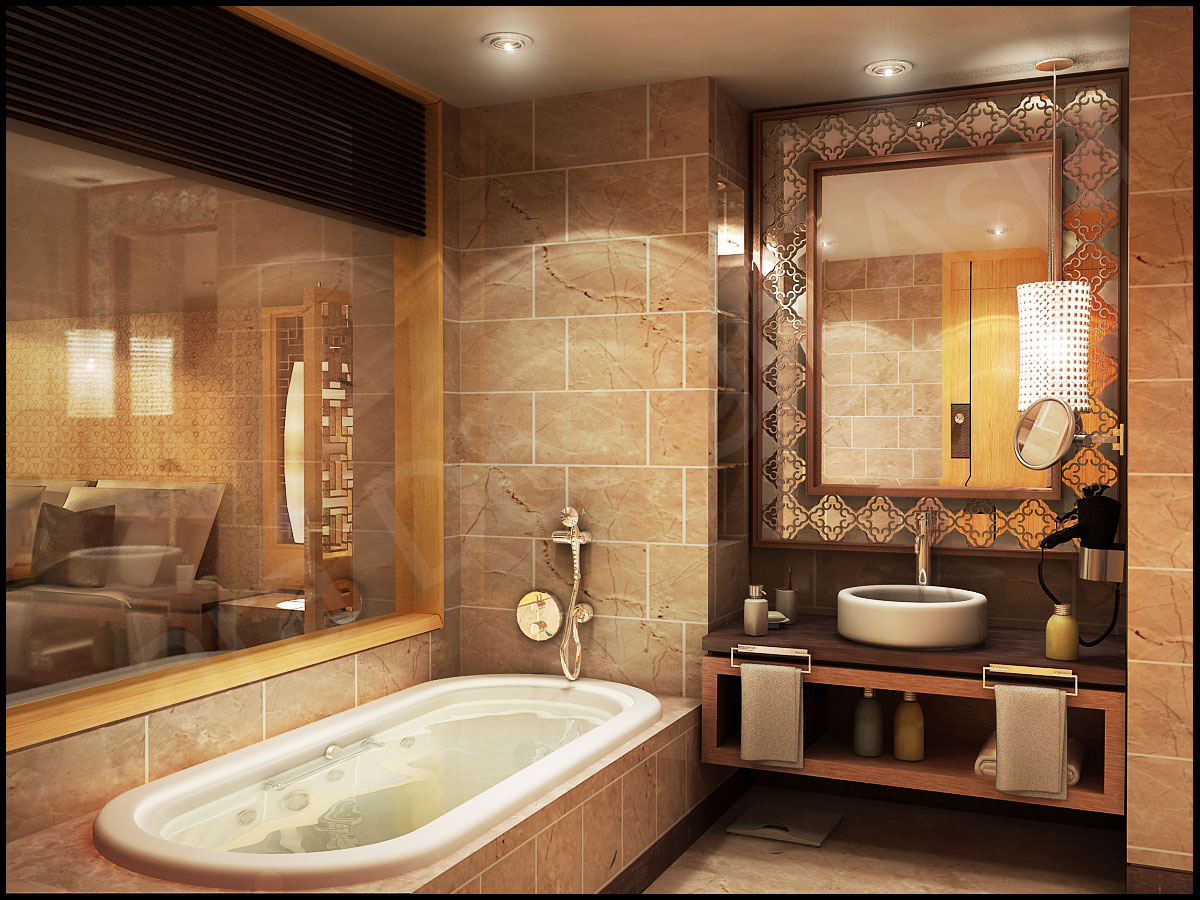 delectable-the-classic-bathrooms-designs-ideas-with-sink-lighting