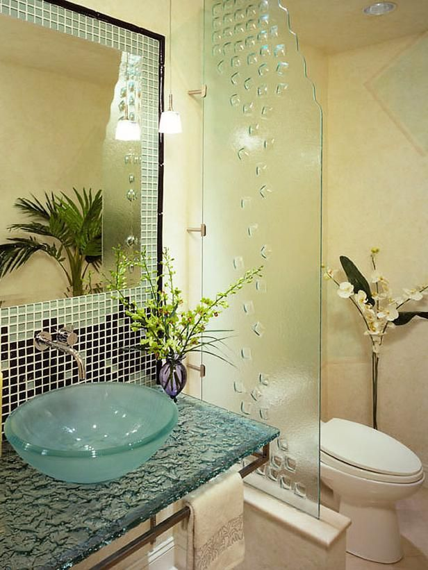 30 Pictures Of Mosaic Tile Countertop Bathroom