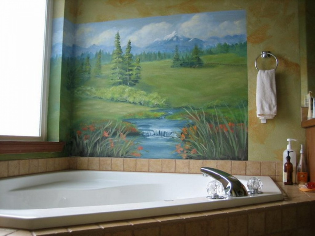 21 Great Mosaic Tile Murals Bathroom Ideas And Pictures