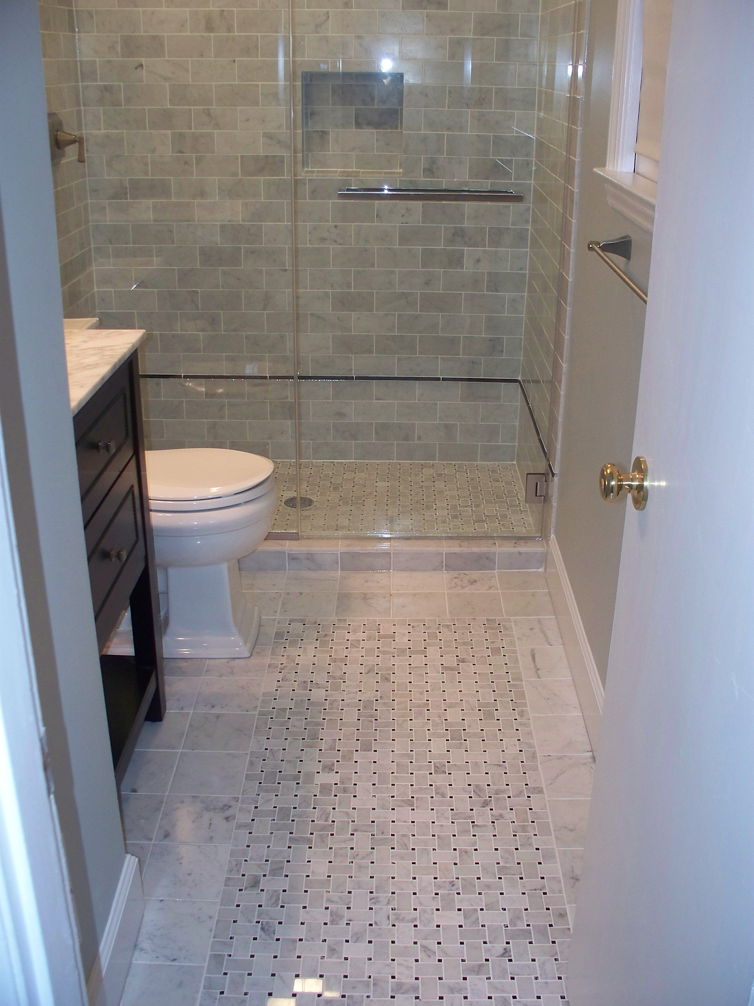 Floor Tile Design Ideas For Renovate Small Bathroom ~ Nice pictures and ideas of pebble bath tiles