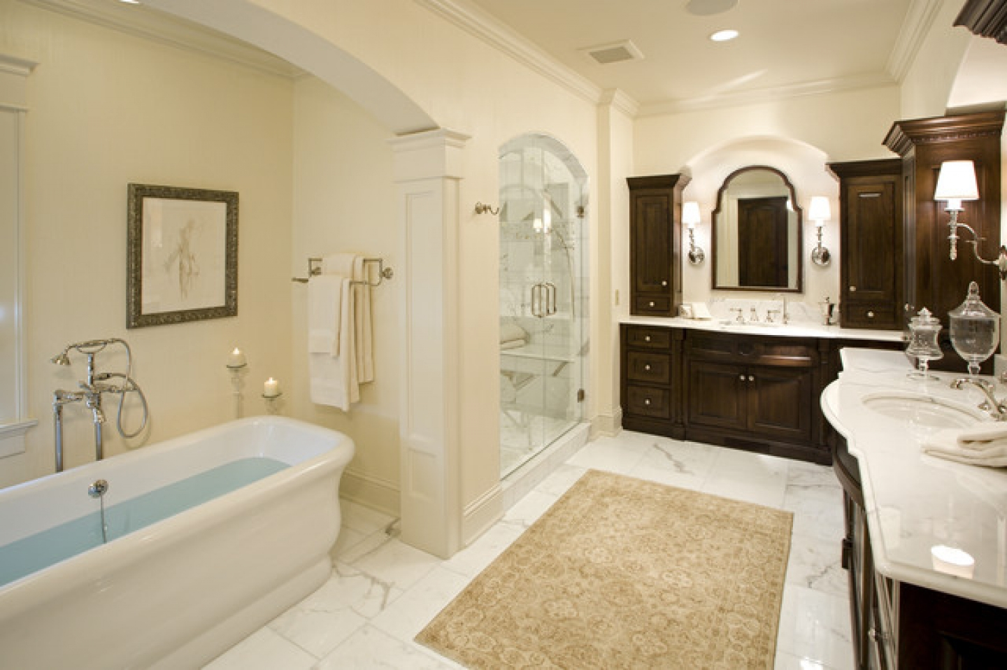 Traditional Master Bathroom Ideas Badst2zab