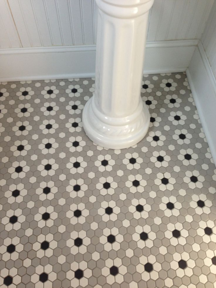 30 Ideas For Hexagon Ceramic Bathroom Tile