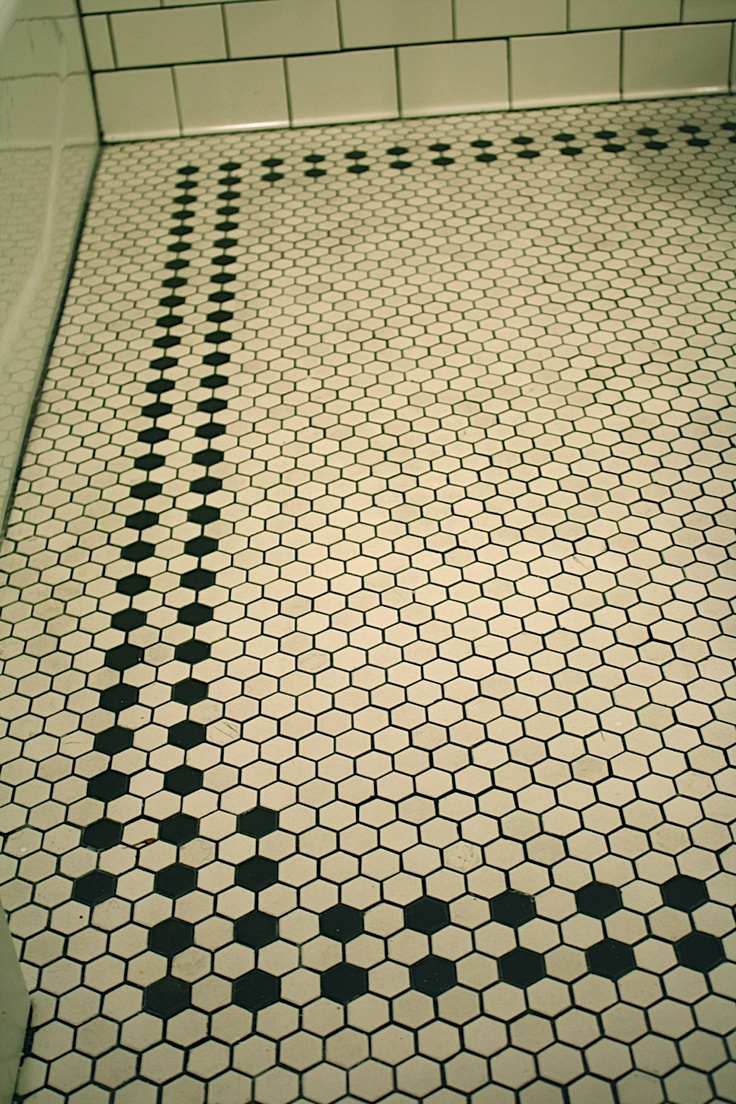 30 Floor Designs That Lay A World Of Possibilities At Your: 30 Hexagon Bathroom Floor Tile Ideas