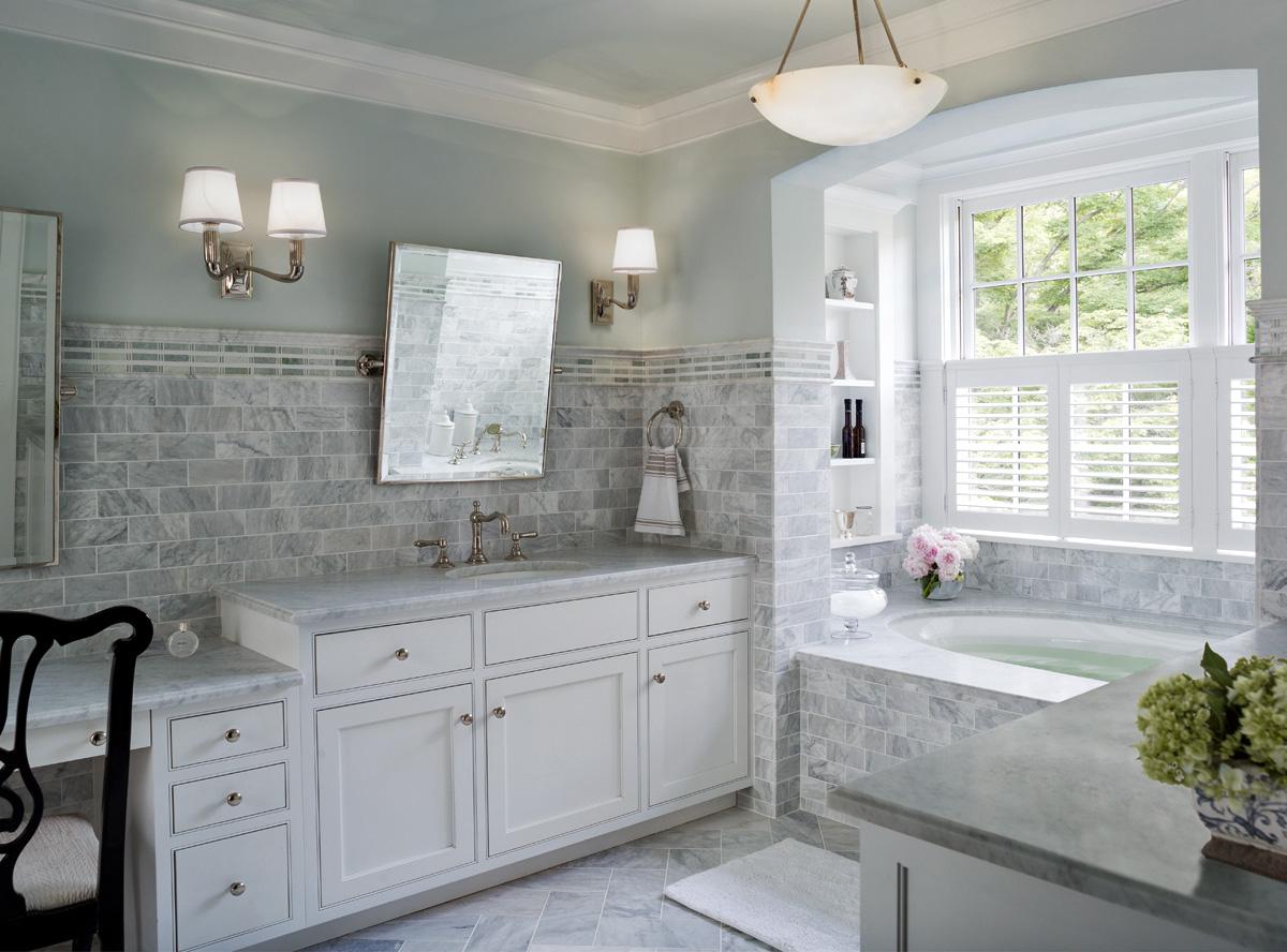 30 cool ideas and pictures of farmhouse bathroom tile on Farmhouse Tile  id=60403