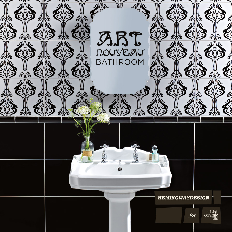 30 great pictures and ideas art nouveau bathroom tiles on