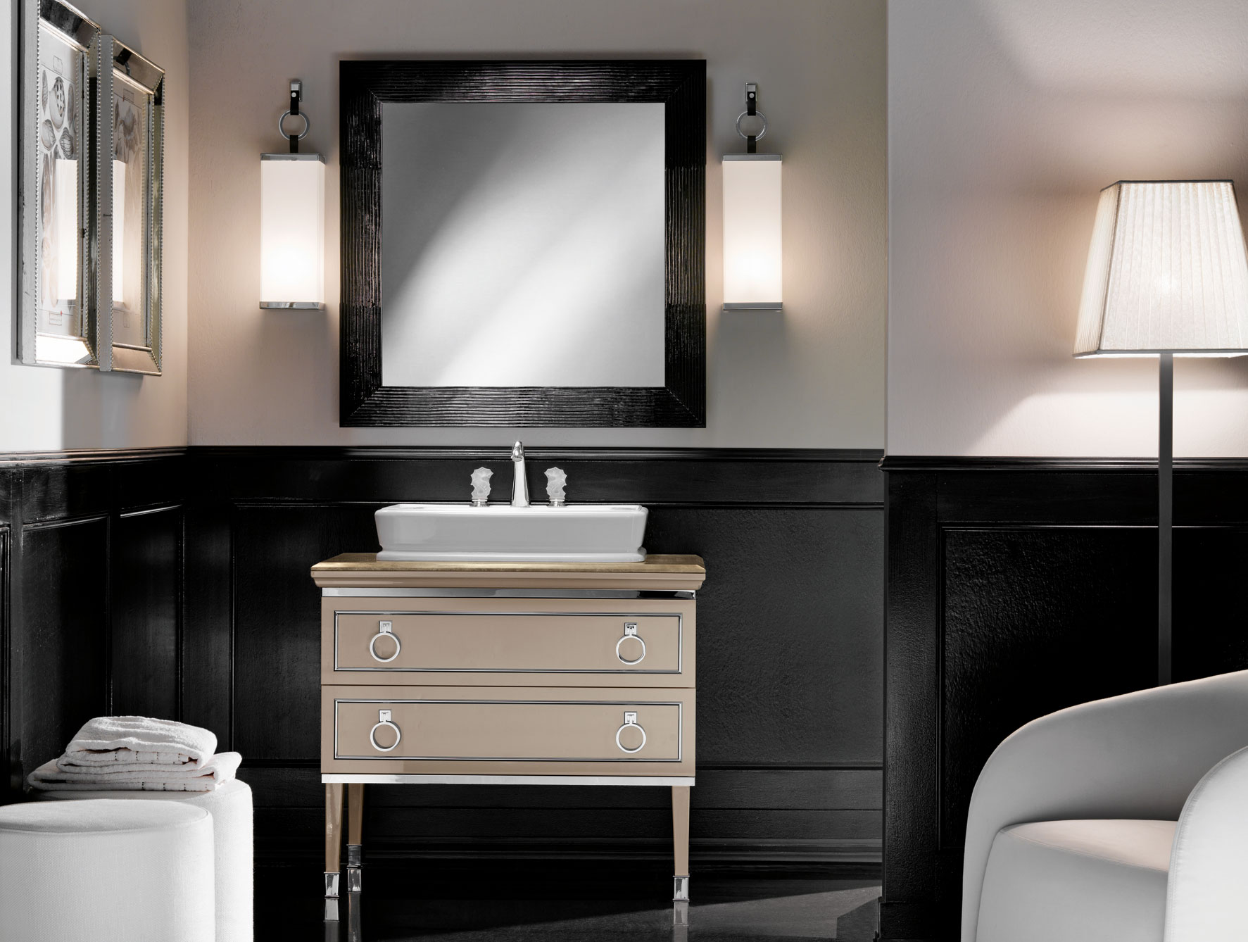 Lastest Art Deco Bathroom Collection By Bisazza  Furniture Fashion