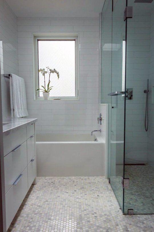 Hexagon Tiles Bathroom Wall