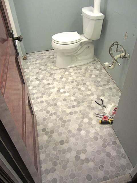 30 Ideas For Hexagon Ceramic Bathroom Tile 2019
