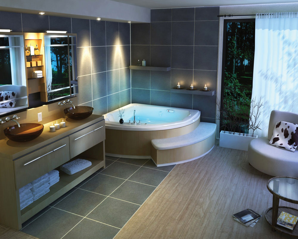 Awesome And Luxurious Bathroom Design Ideas By Pearl  ...