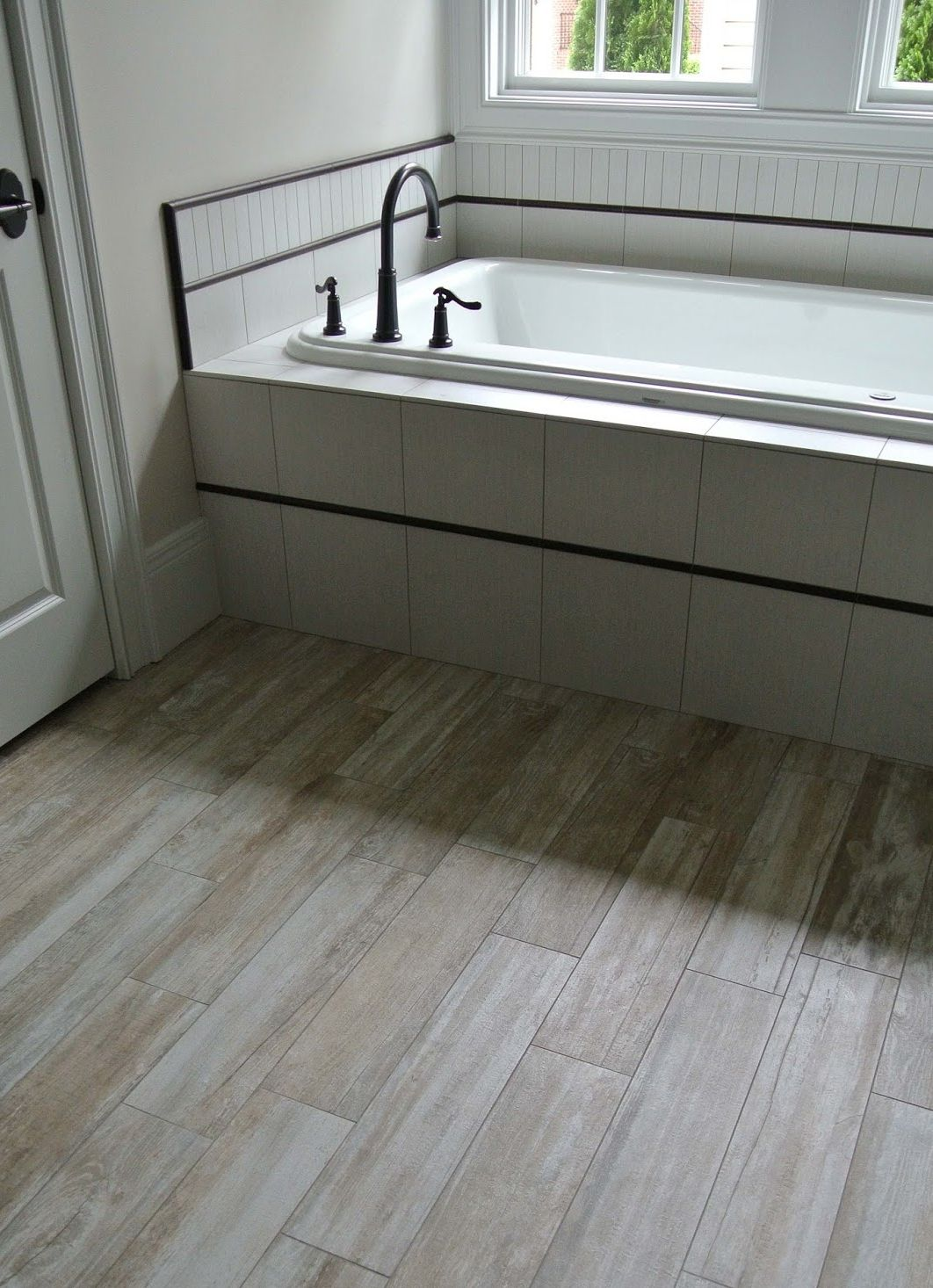 ... Bathroom Flooring Ideas With Various Materials And Styles  Part 49