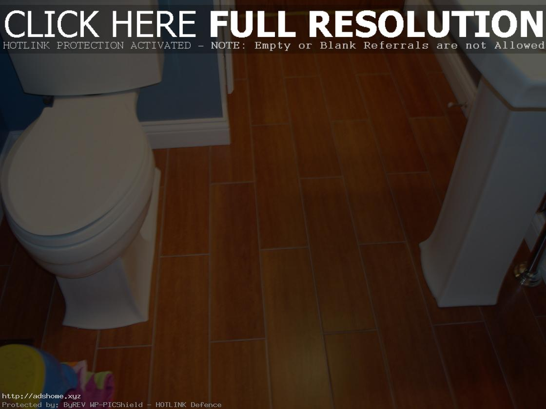 Classic-bamboo-flooring-in-bathroom-ideas