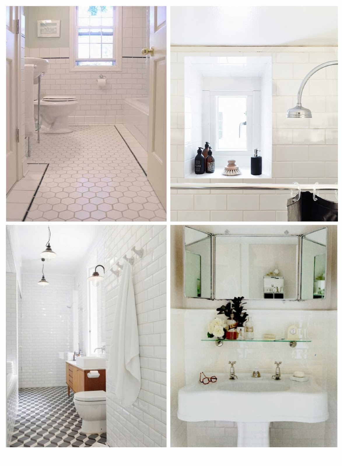 30 Wonderful Pictures And Ideas Art Deco Bathroom Tile