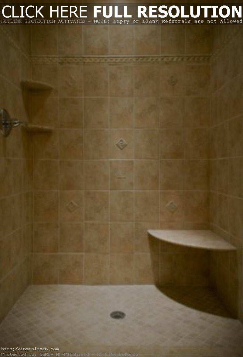 Delightful-New-Creamy-Capucino-Marble-Tiles-Bathroom-Design-with-Corner-Wall-Mounted-Open-Shelves-and-Single-Handle-Rain-Showers-and-Brown-Beige-Ceramic-Base-Tiles-Floor-Modern-Design