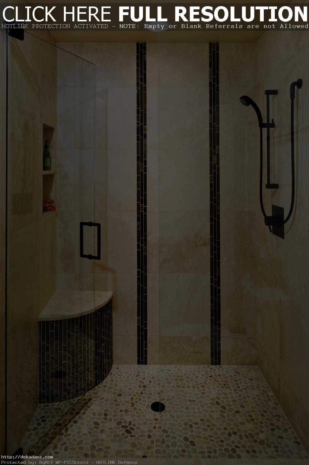 Exotic-Bathroom-Shower-Remodel-Modern-Tile-Shower-Style-Idea