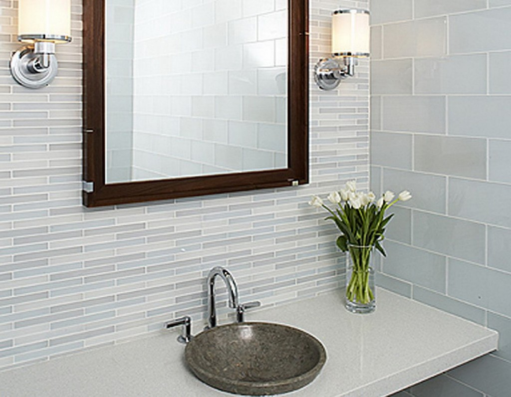 ... Fantastic White Small Bathroom Tile Design Ideas ...