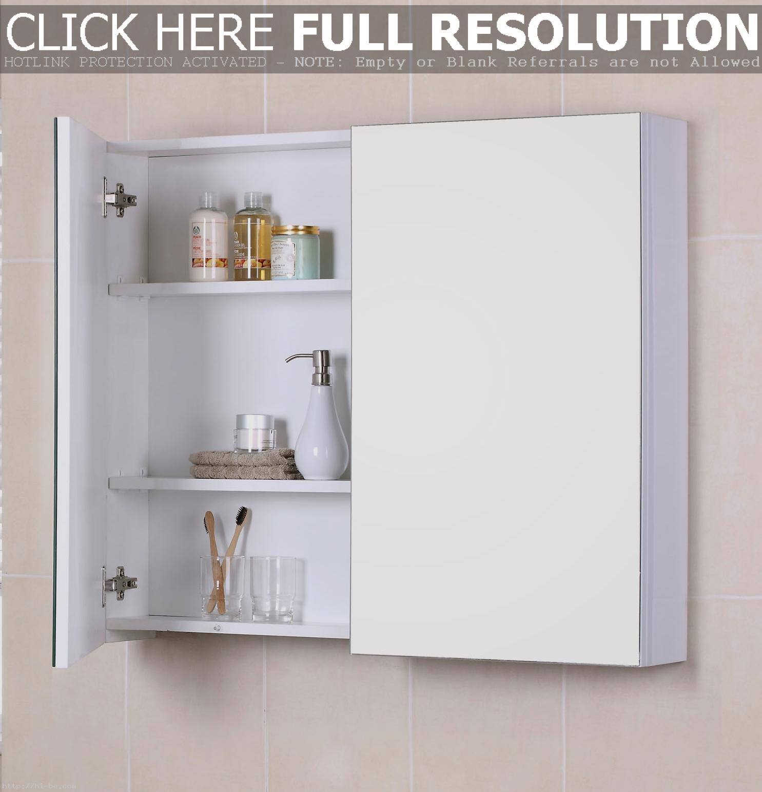 Fascinating-Bathroom-Cabinets-Design-With-Lights-Wall-Medicine-Mounted-Mirror-Furniture-With-3-Tier-Caddy-Shelf-In-Pink-Ceramic-Tiles-Decor-Idea-Kitchen-Ca