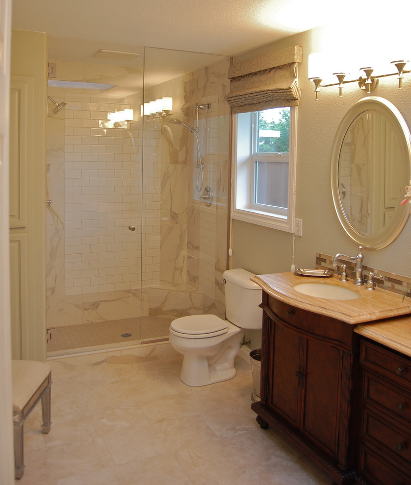 Good-Looking-Porcelain-Floor-Tile-home-remodeling-Traditional-Bathroom-Portland