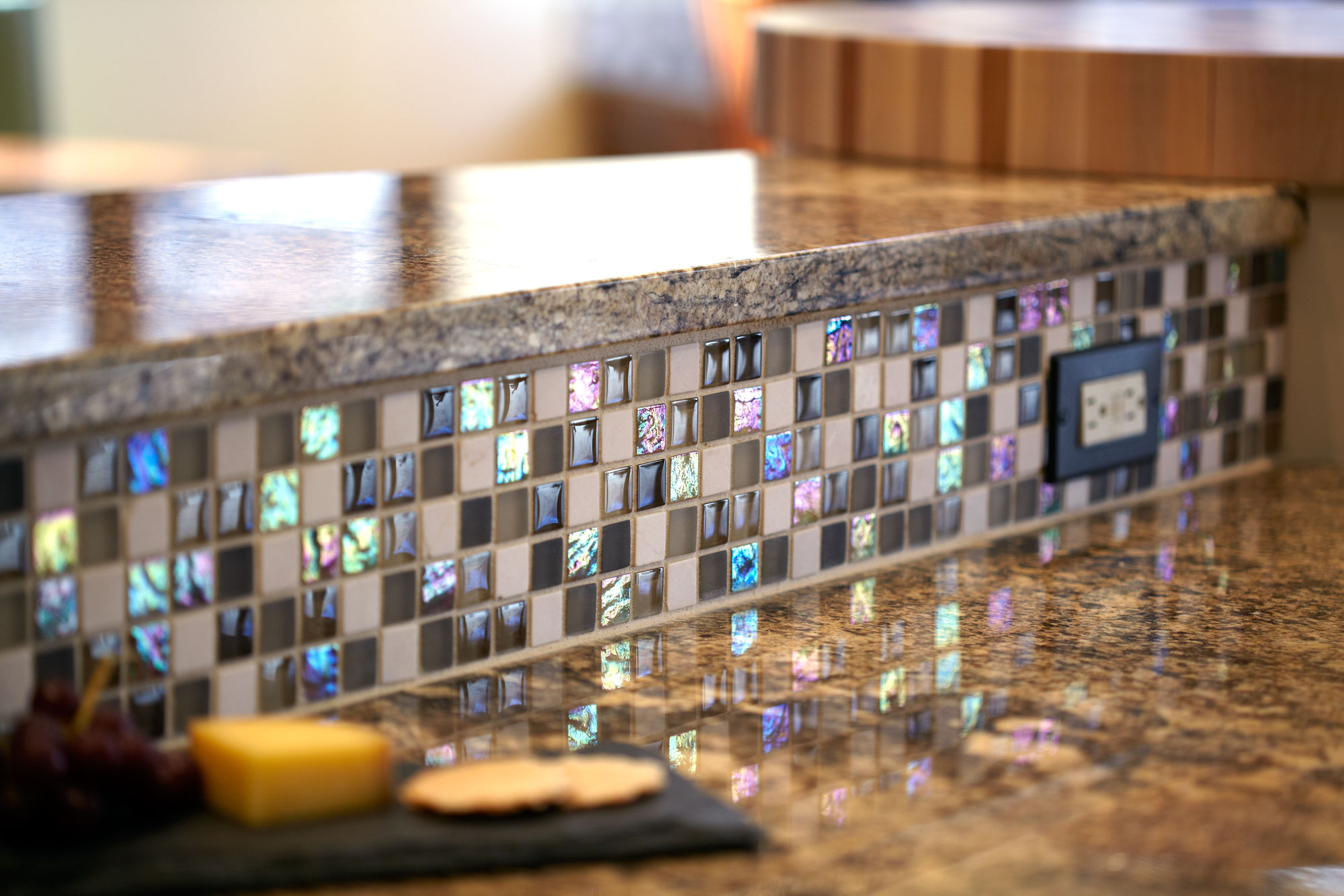 Mosaic tile backsplash diy
